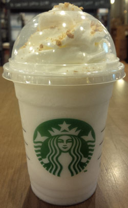 On Second Scoop Ice Cream Reviews Starbucks Frappuccino Fan