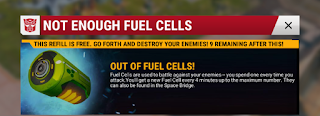 transformers earth wars fuel cells