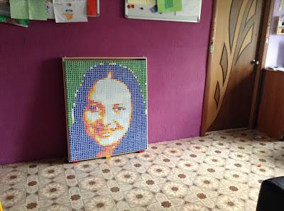 rubik's cubes art