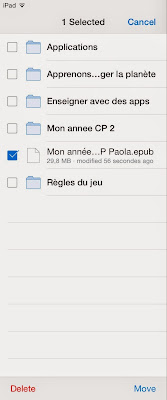 Déplacer document Dropbox 3