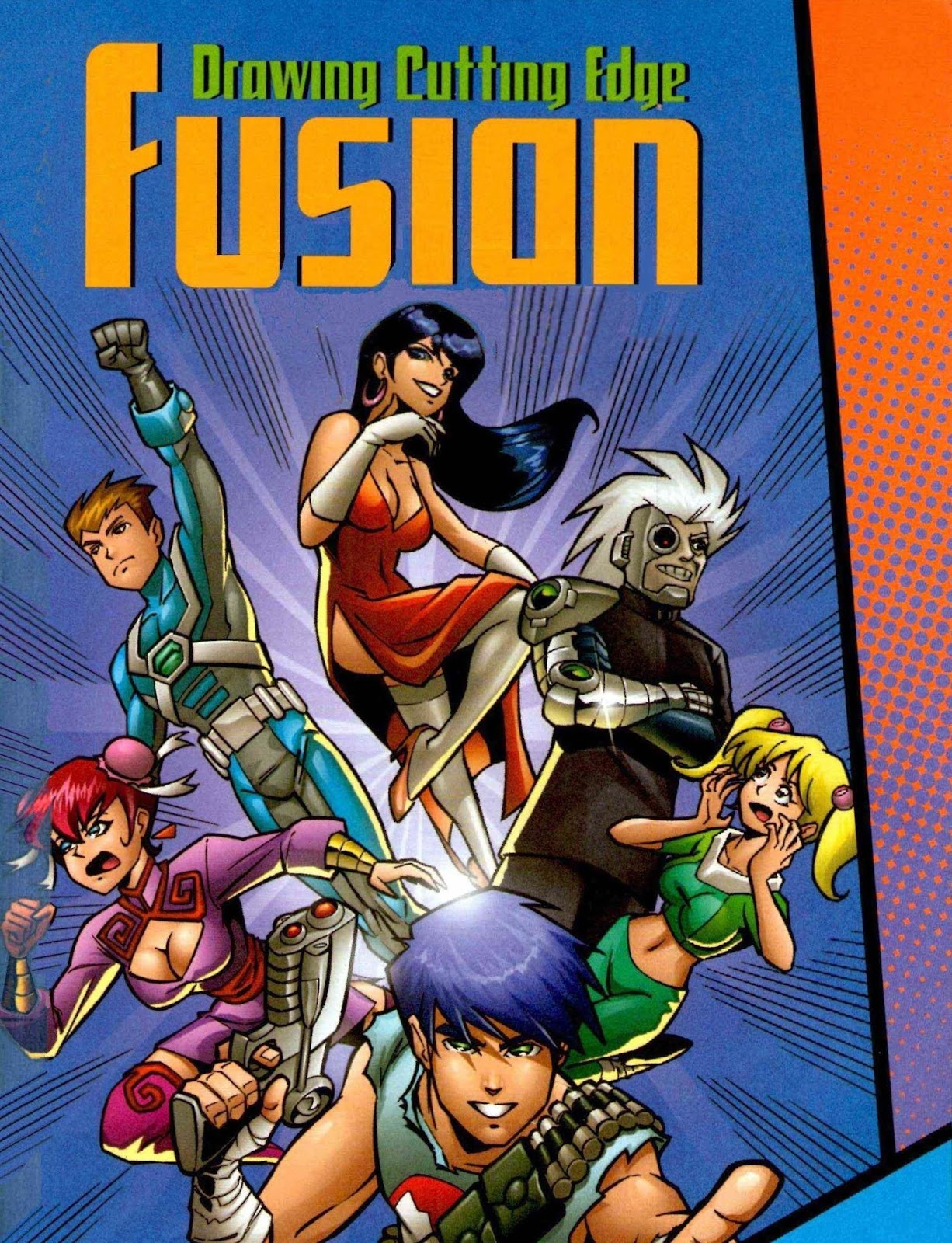 Drawing Cutting Edge Fusion | American Comics with a Manga Influence ...