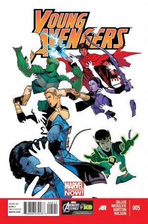 Young Avengers # 5 - Kieron Gillen Jamie McKelvie