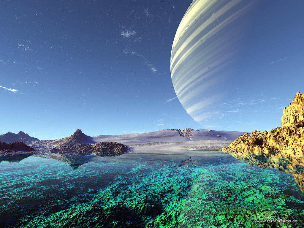 alien water planet - photo #38