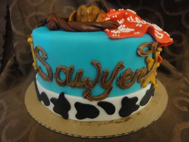 Katie Cakes Cowboy Cake