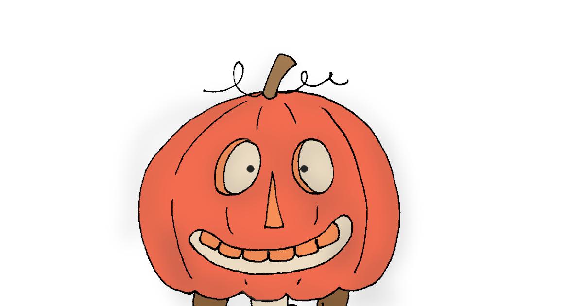 Trick or treat pumpkin head