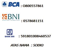 Info Rekening Bank