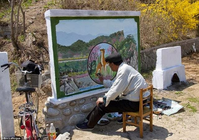 Fotos prohibidas del Corea del Norte