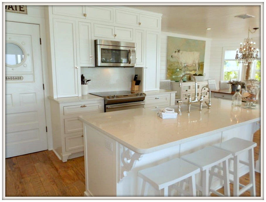 Farmhouse Kitchen-Serendipity I- Ana Maria Island Rental- From My Front Porch To Yours