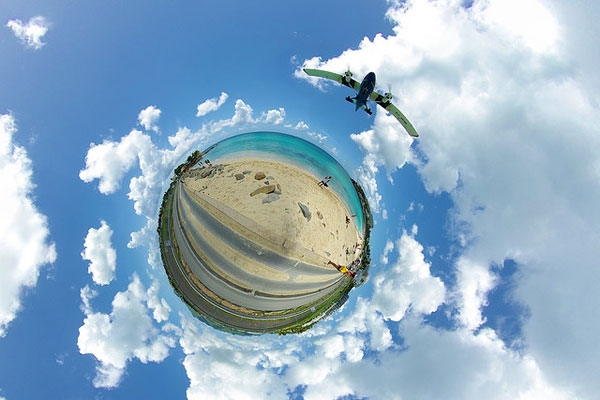 how to take spherical panorama