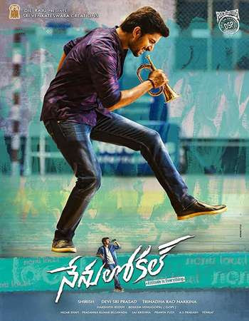 Poster Of Nenu Local In Dual Audio Hindi Telugu 300MB Compressed Small Size Pc Movie Free Download Only At exp3rto.com