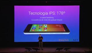 Especificações técnicas Xiaomi Redmi 2 Tela