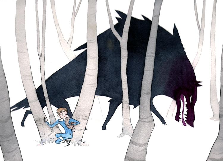 Grimm, Wolf, Wolves, Fairy tale, Baśń, Czerwony Kapturek, Baśnie o wilkach, Baśnie na warsztacie, Mateusz Świstak