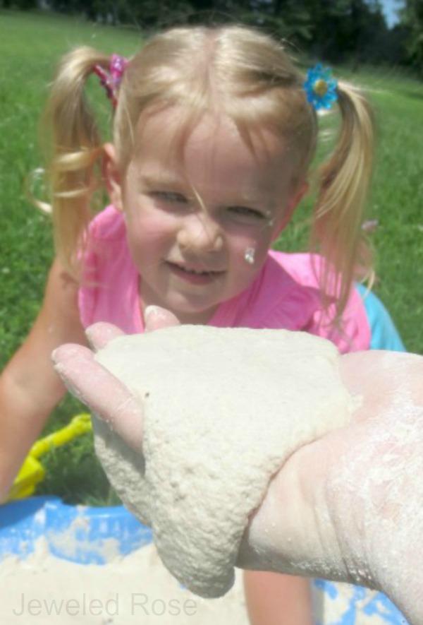 Play recipe- homemade quicksand