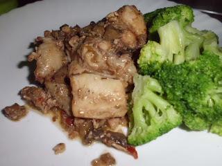 asaillo de pollo con brocoli