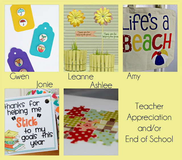 POV {Teacher Appreciation} & Linky Party!