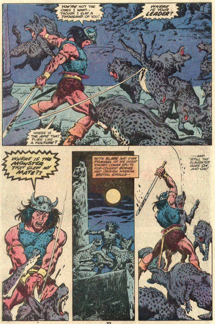 Conan the Barbarian (1970) Issue #100 #112 - English 25
