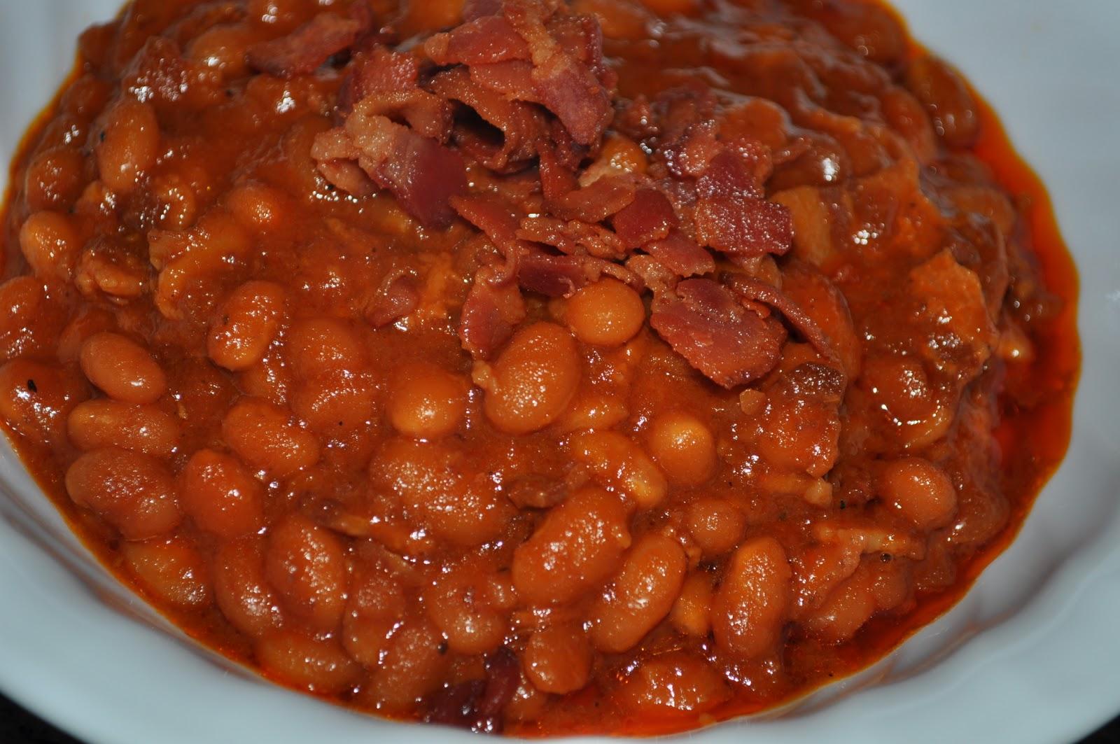 baked beans baked beans in the crock pot bark s baked beans grandma ...