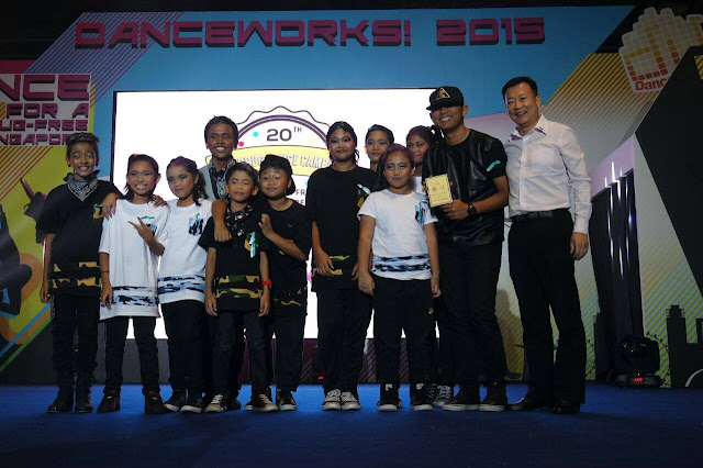 2015 DanceWorks! Winner for CAT 1 - Sugar Rush Crew: