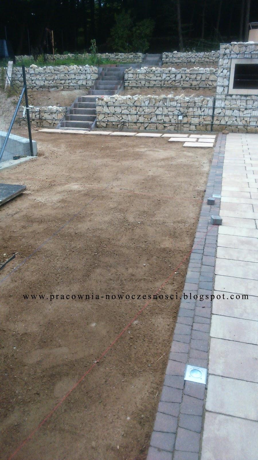 trawnik - przygotowanie podłoża