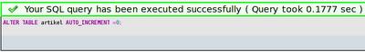 success query mysql