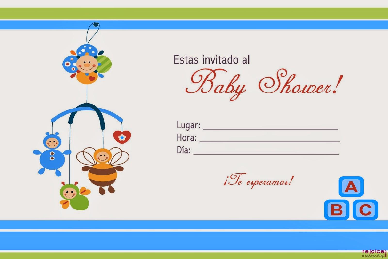 Juegos de Baby shower para imprimir gratis | Tarjetas