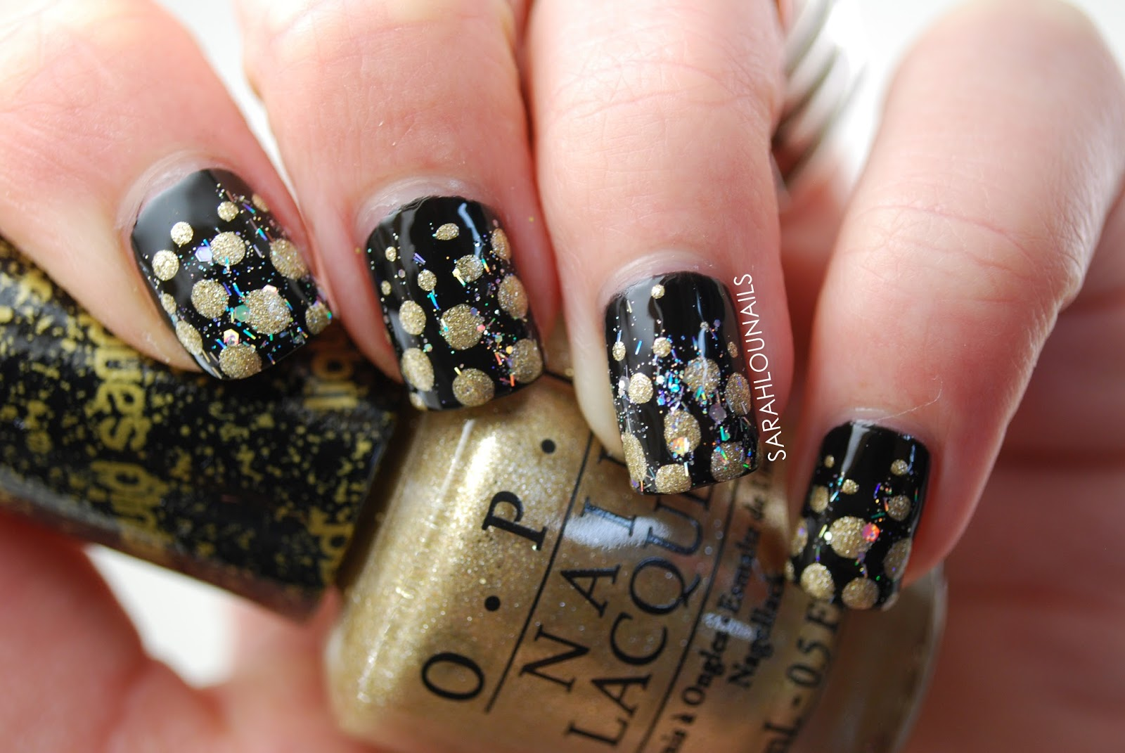 Sarah Lou Nails: New Years Eve Nails!