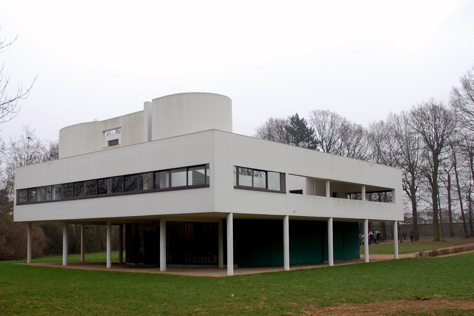 Agnese e villa savoye a poissy 1928 1931 - Le corbusier tetto giardino ...