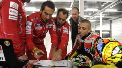 Valentino Rossi Ducati 1198 Silverstone