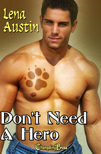 Don't Need a Hero by Lena Austin