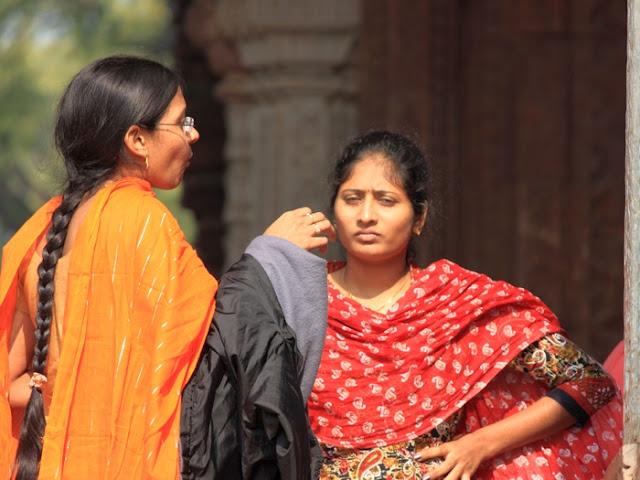 недовольная индуска