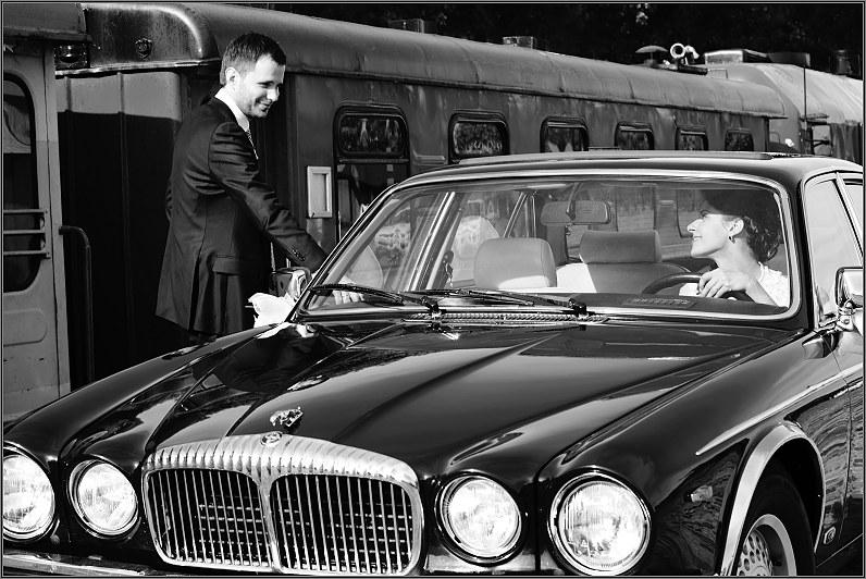 jaguar automobilis per vestuves