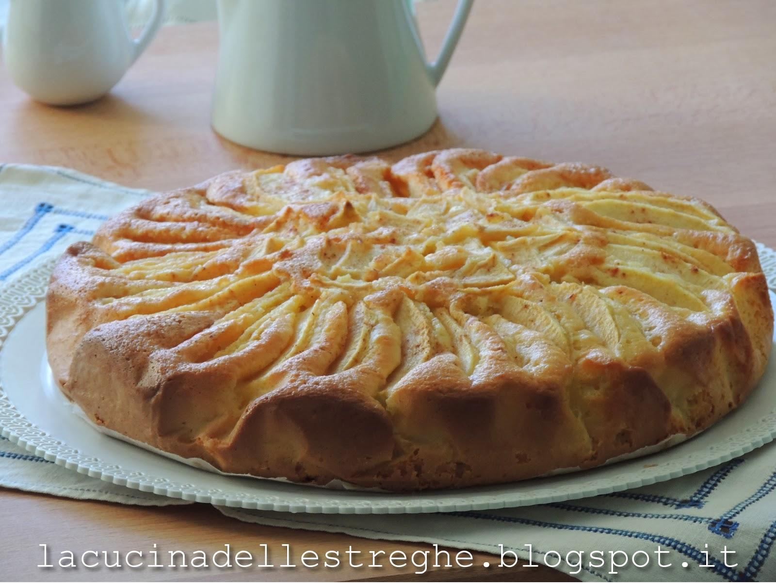 La cucina delle streghe torta di mele affondate - La cucina di sara torte ...