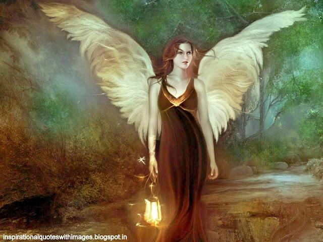 Sweet angel wallpaper