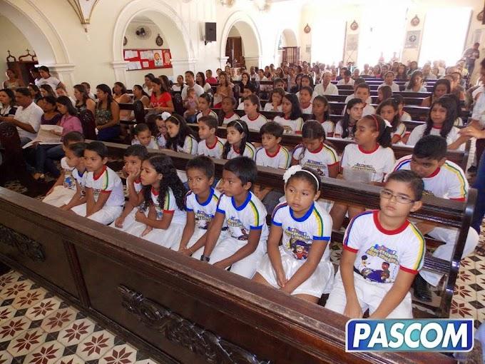 CONSAGRAÇÃO DA INFÂNCIA MISSIONÁRIA 2014