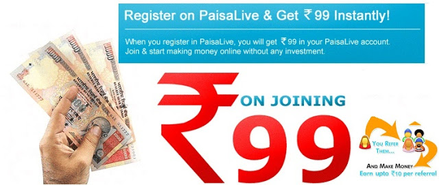 Earn Money Through PaisaLive