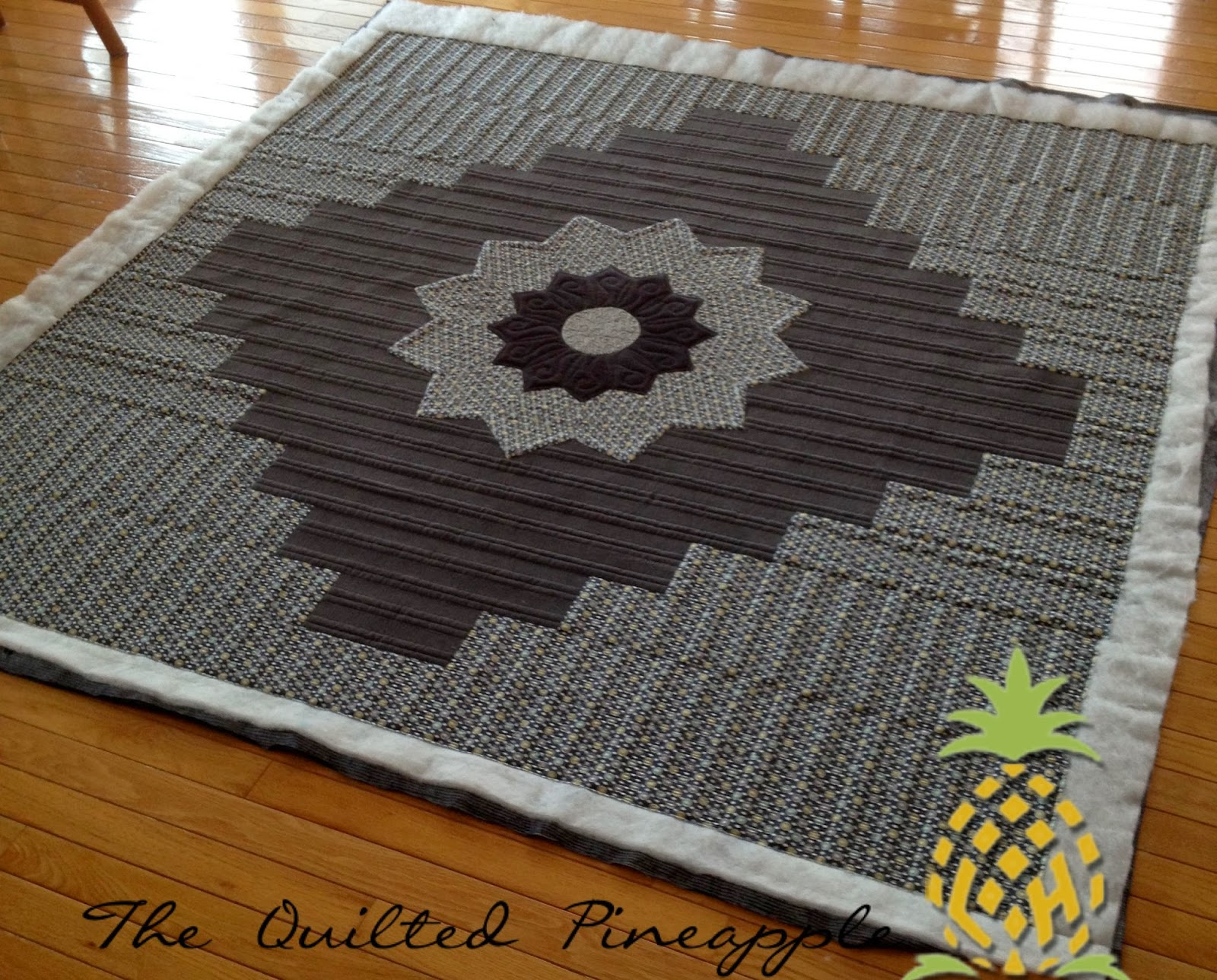 THE QUILTED PINEAPPLE: Uncommonly Corduroy - Blog Book Tour : masculine quilt designs - Adamdwight.com