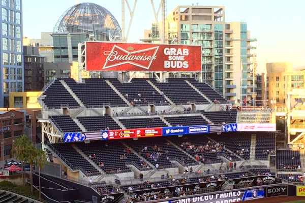 Petco Park is an open-air ballpark in downtown San Diego, California, USA. - Oma Loves U!