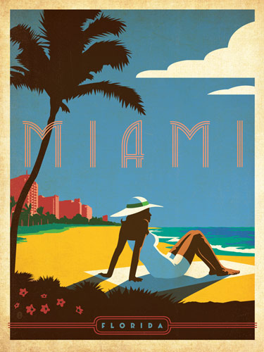 Flyer goodness classic american travel posters by the for Design agency usa