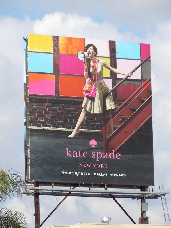 Kate Spade fashion billboard