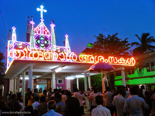 Thrissur Festivals - Poomala Church