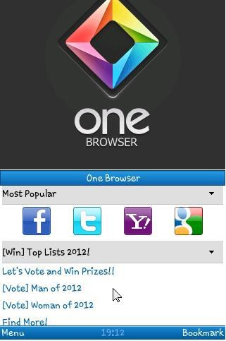 One Browser navegador java