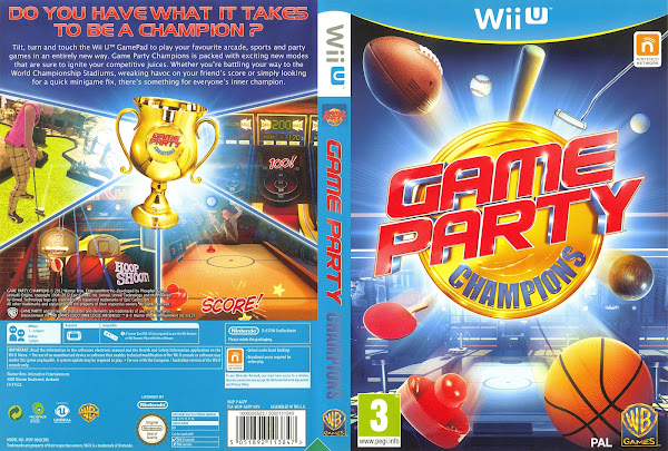 Capa Game Party Champions Wii U