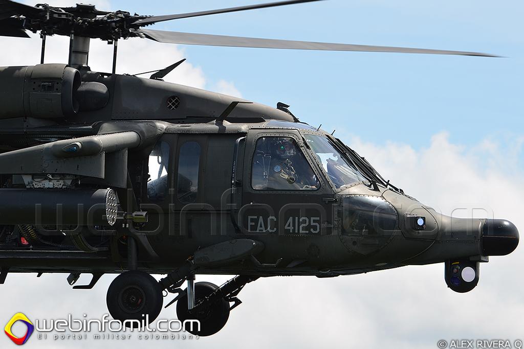 FAC4125, helicóptero Arpía III de la Fuerza Aérea Colombiana