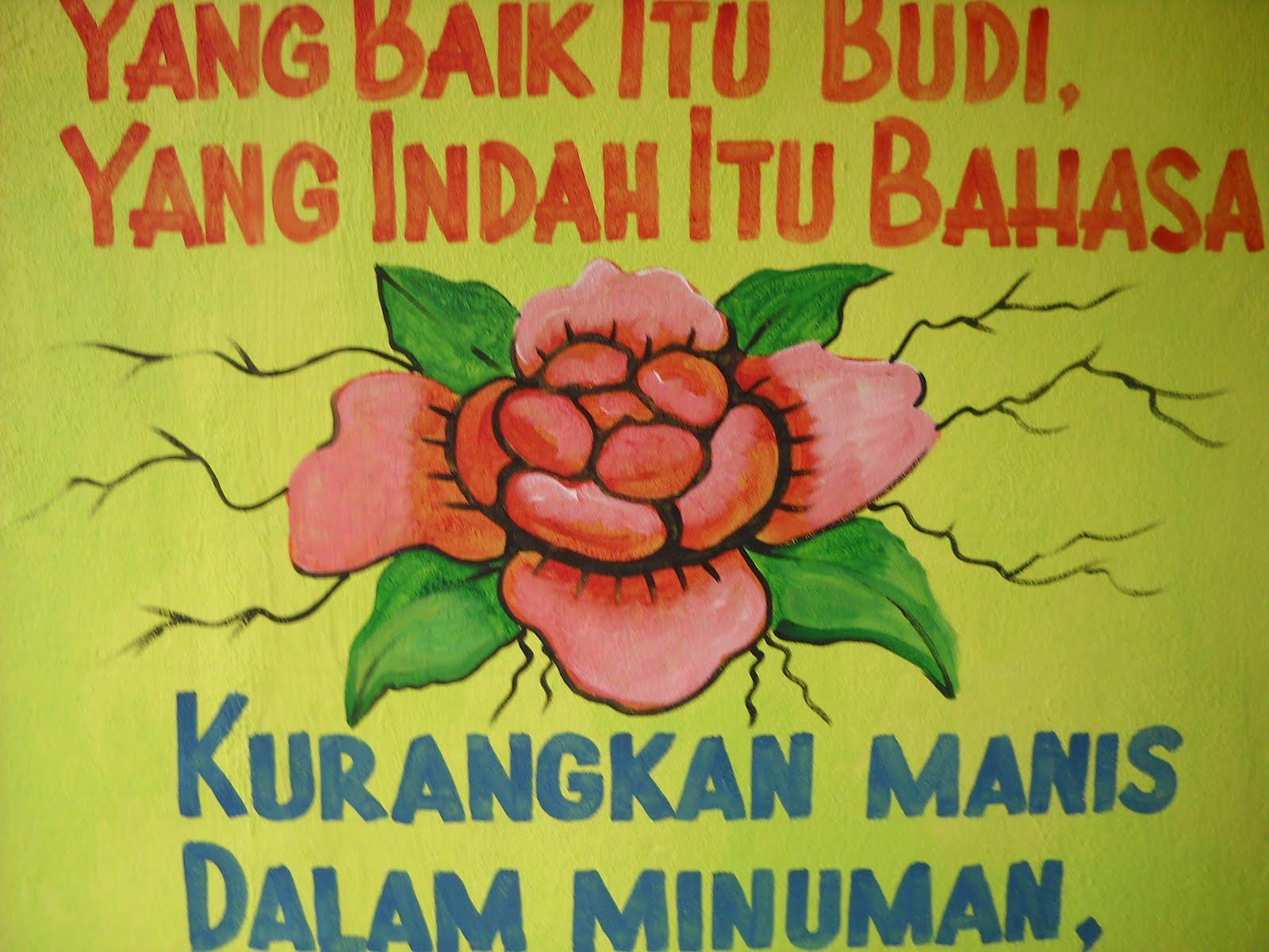 Pelukis mural shah alam pantun nasihat for Mural sekolah rendah