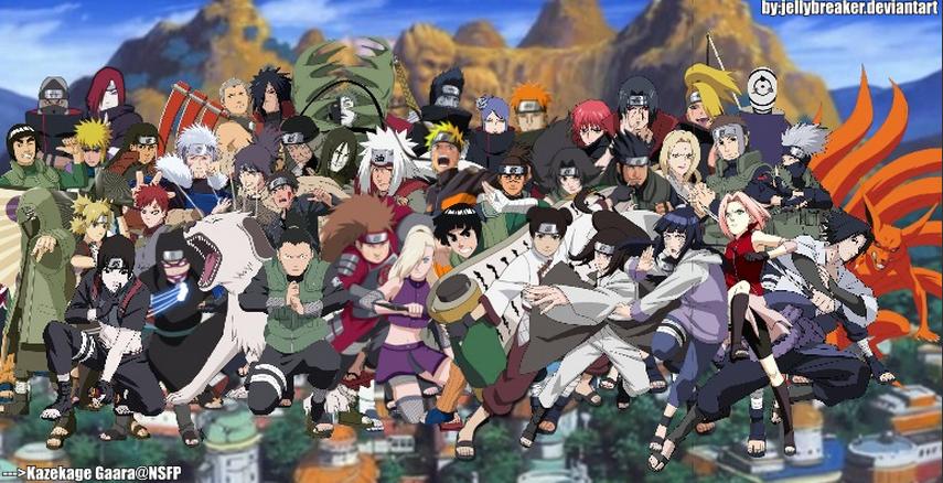 Naruto shippuden - All naruto characters ...