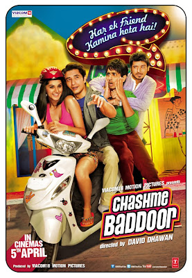The OFFICIAL POSTER Of Chashme Baddoor