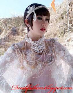 Great Gatsby ala Syahrini Princess Cetar