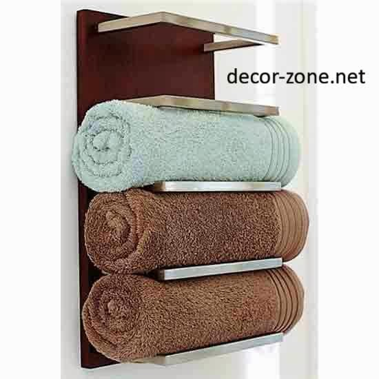 10 bathroom towel storage ideas for small bathrooms for Towel storage for bathroom ideas