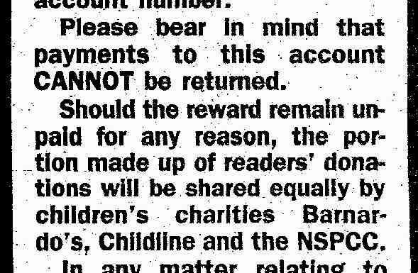 News of the World gave McCanns REWARD money in April 2011. Notw+reward+crop