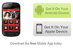 Ebony Evans Mobile App